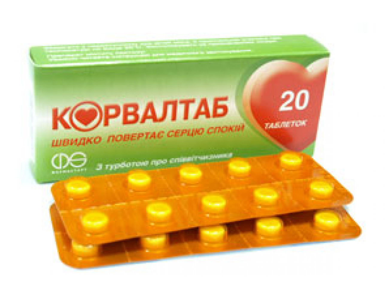 Corvaltab Tablets: instructions for use, description, composition and reviews 50