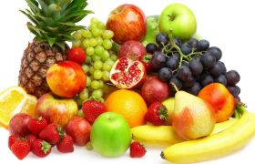 Fruits and vegetables in the diet of hypertonic